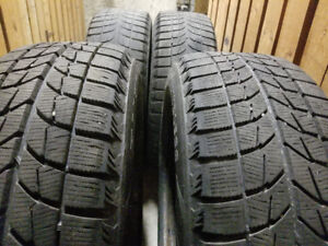 """14"""" BF Goodrich winter tires with rims"""