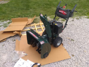 ** BRAND NEW in box Craftsman snowblower 9HP 24 inch $800