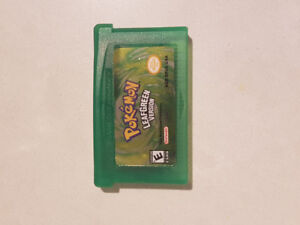 Pokemon Leaf Green for GBA