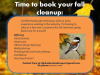 Time for your fall cleanup!