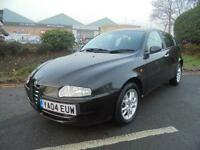 Alfa Romeo 147 1.6 T.Spark Lusso 5dr£999 PART EX PRICED TO CLEAR 2004 (04 reg),