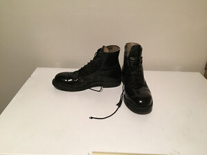 Used cadet boots / dress shoes