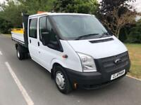 2014 FORD TRANSIT 350 TIPPER RWD 2.2 DOUBLE CAB