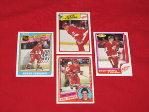 Discount rookies/stars, conditions vary-Yzerman, Probert, others