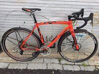 Raleigh RX Pro hydraulic disc road bike