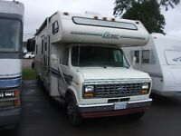 1990 Class C Motorhome, Reduced to $ 10,900.00