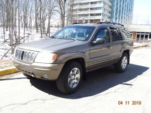 JEEP GRAND CHEROKEE LIMITED 2001 4WD V8 4,7L 132 KMS