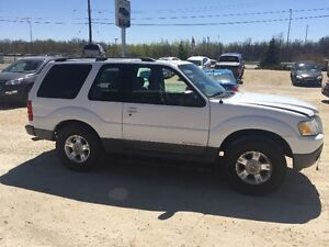2002 Ford Explorer Sport XLT SUV, Crossover as is no safety