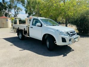 2017 Isuzu D-MAX MY17 SX 4x2 High Ride White 6 Speed Sports Automatic Cab Chassis Clare Clare Area Preview