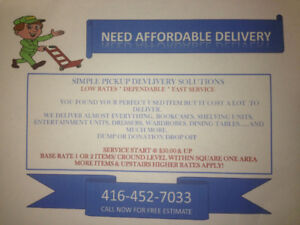 Affordable Delivery