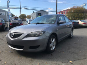 2006 Mazda 3 w/ 132k km- NEW MVI, oil change & undercoating