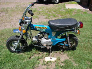 Wanted, Honda ct70, z50 mini trail 70 xl xr cl sl bikes/parts
