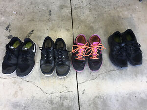 Size 8 - NIKE runners - $40 each