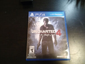 Uncharted 4 - Never used