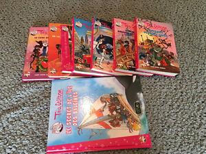 Téa Stilton - grand livre, petit format et BD