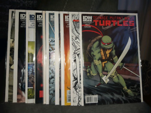 Teenage Mutant Ninja Turtles #1-10 IDW 2011 Ongoing Series