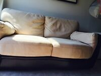 LEATHER COUCH  very good condition
