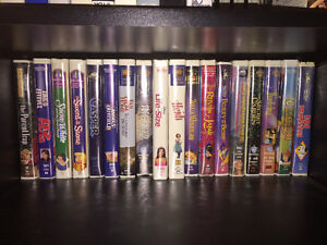 Children's VHS tapes and two adult sets