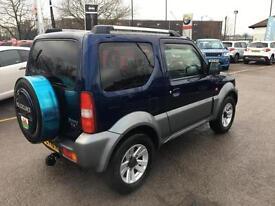 2010 Suzuki Jimny SZ4 Petrol blue Manual