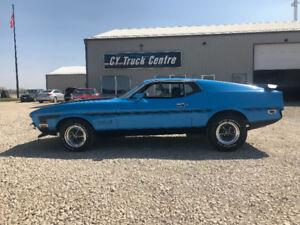 1971 Mustang Fastback Grabber Blue BOSS 351