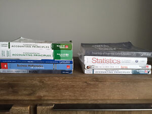 Red River College Business Administration Year 1 Textbooks