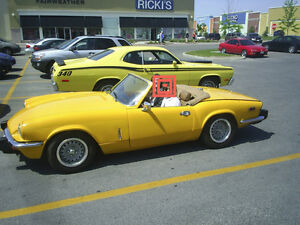 Triumph Spitfire. Looking for offers