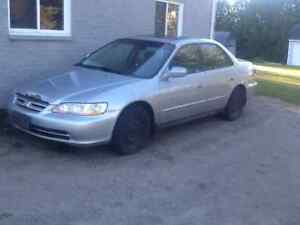 2002 Honda Accord for parts or home mechanic