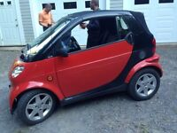 05 diesel smart car (Pulse) convertible