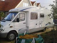 Burstner T Star 680, Service History, New Habitation, Sleeps 4 with 4 Seat Belts