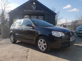 Volkswagen Polo 1.2 60 PS Match (black) 2008