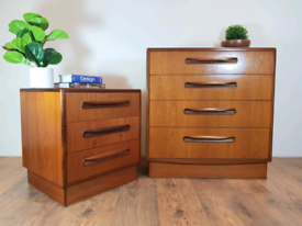Vintage Retro Mid Century G Plan Chests of Drawers
