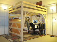 Someone who can make a loft bed