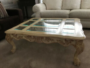 Matching Coffee Table, Sofa Table, and End Tables Set for Sale