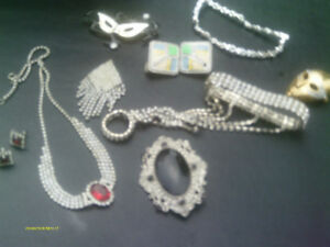 Rhinestone and Costume Jewelry