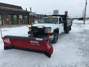 2004 Chevrolet Silverado 3500 HD Dump Body With Plow