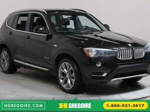 2015 BMW X3 xDrive35i A/C MAGS BLUETOOTH CAMERA RECUL TOIT OUV