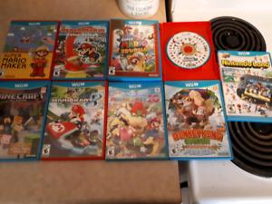 Wii U + 9 games