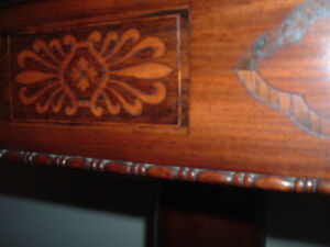 Antique card table brought over from Ireland