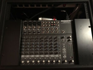 Mackie 1202-VLZ Pro 12 channel Mixer with SKB rack case