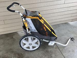 Chariot ( remoque à vélo ou à pied)