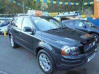 2010 59 VOLVO XC90 2.4 D5 SE AUTO AWD GEARTRONIC IN GREY # ONE OWNER LOW MLS #