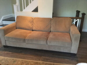 Couch extremely comfortable, micro fibre. From  S&C collection