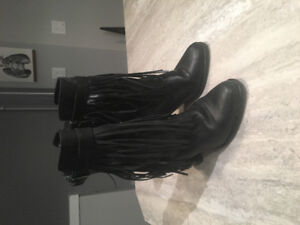 3 pairs of Christmas Party Boots, worn once, High Quality