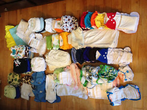Grand lot Couches Lavables / washable diapers