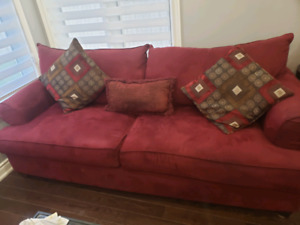 2 seater sofa and a chaise for sale