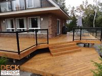 Deck Refresh Kitchener Waterloo Guelph - Staining & Restoration