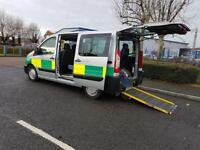 Peugeot Expert Tepee WHEELCHAIR ACCESSABLE 6-SEATER+TAIL RAMP ex-nhs trust
