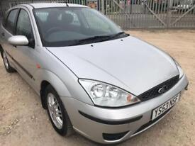 2004 53 FORD FOCUS 1.6 LX 5 DR HATCHBACK VERY LOW MILEAGE