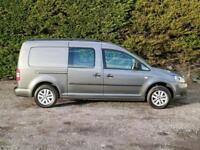 2014 (64) VOLKSWAGEN CADDY C20 MAXI KOMBI LWB 5 SEAT CREW VAN,102BHP, Small