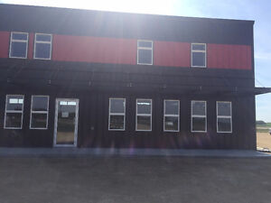 Highway 2 Bay with 1/2 acre  For Lease